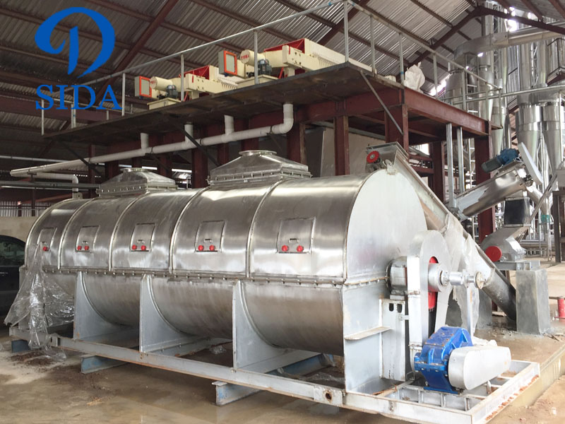 Drying equipment for cassava dregs project.jpg