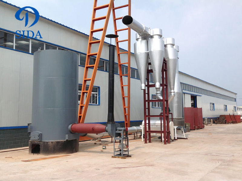 Sweet potato starch drying machine