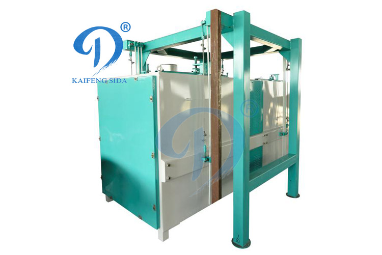 Fully enclosed double vibrating screen machine.jpg